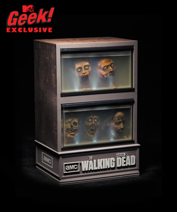 The Walking Dead Season Three limited edition Blu-Ray box set.