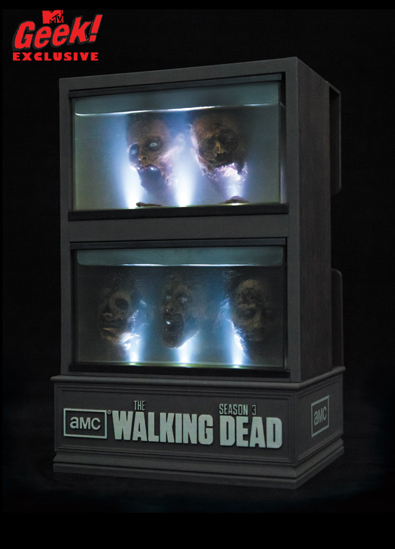 The Walking Dead Season Three limited edition box set.