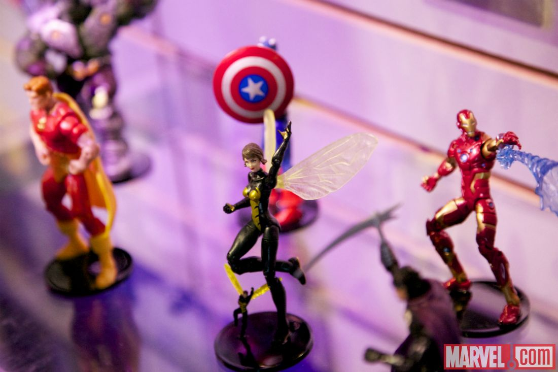 Toy Fair 2014 Marvel Universe figures
