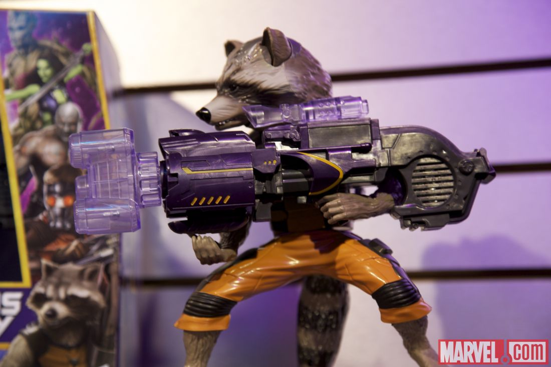 Toy Fair 2014 Rocket Raccoon