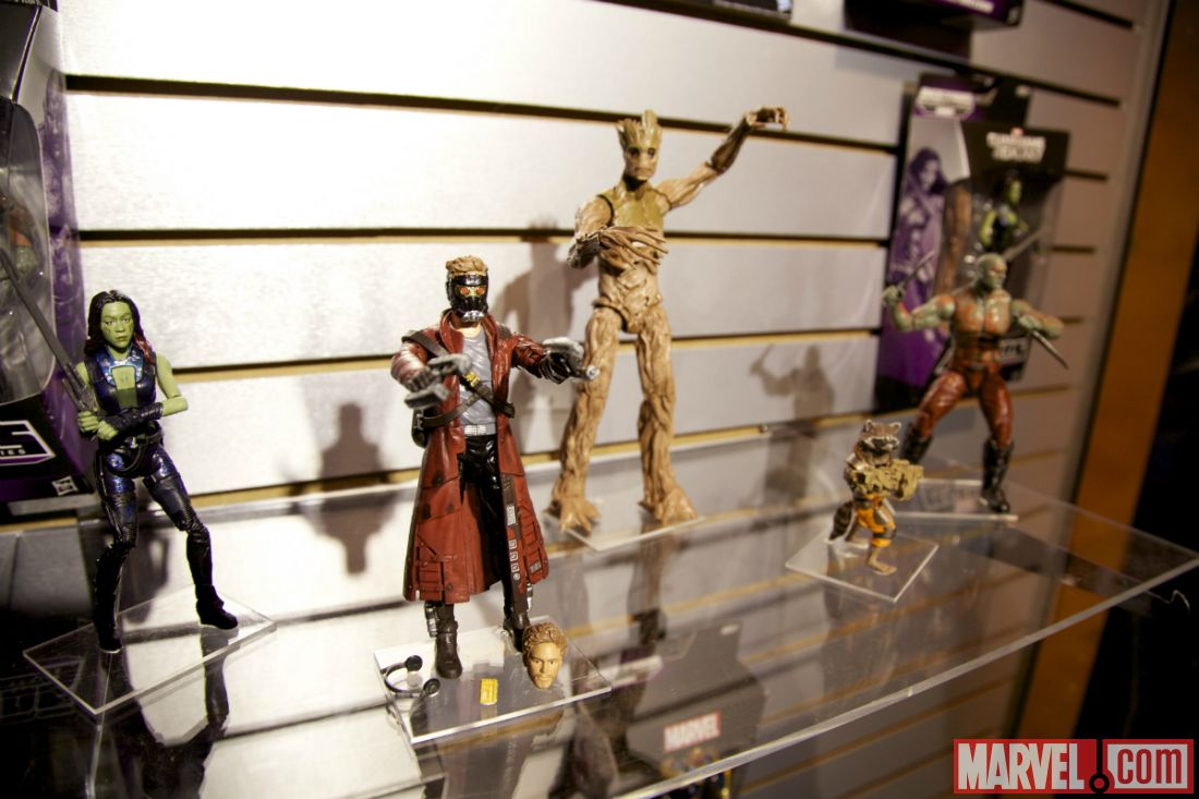 Toy Fair 2014 Guardians of the Galaxy figures