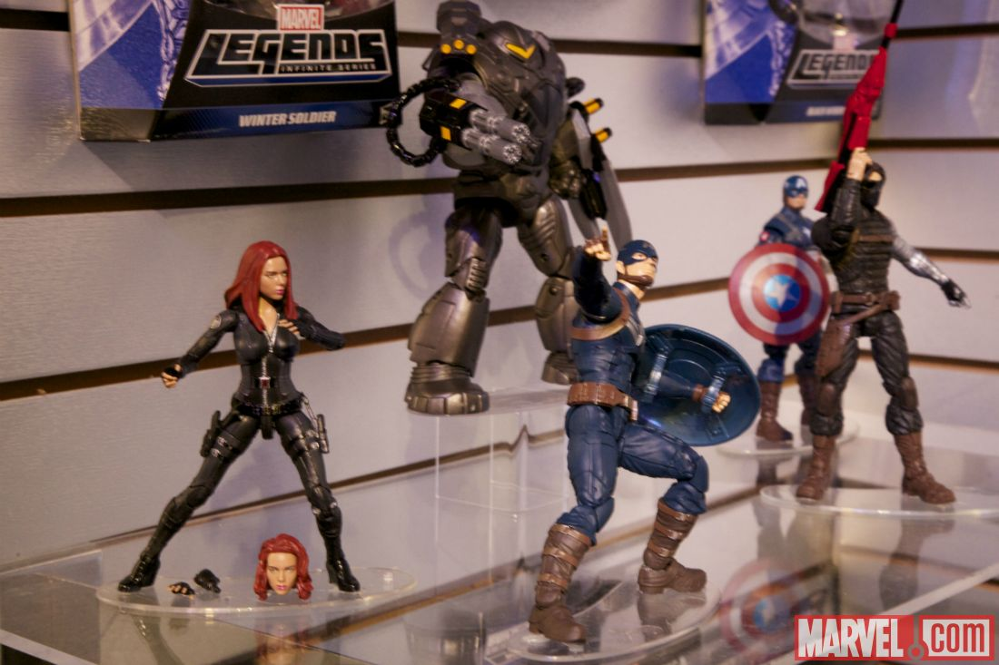 Toy Fair 2014 Captain America The Winter Soldier Figures