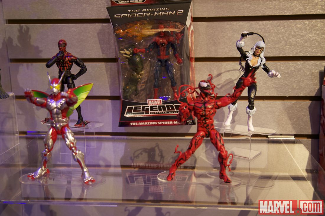 Toy Fair 2014 Amazing Spider-Man 2 figure