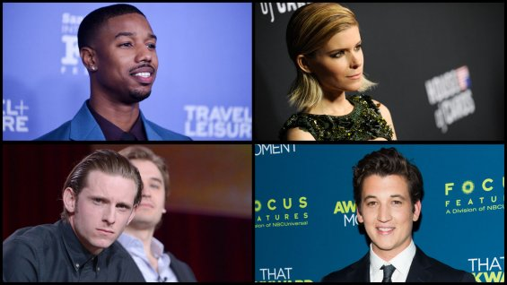 Cast of the Fantastic Four reboot movie