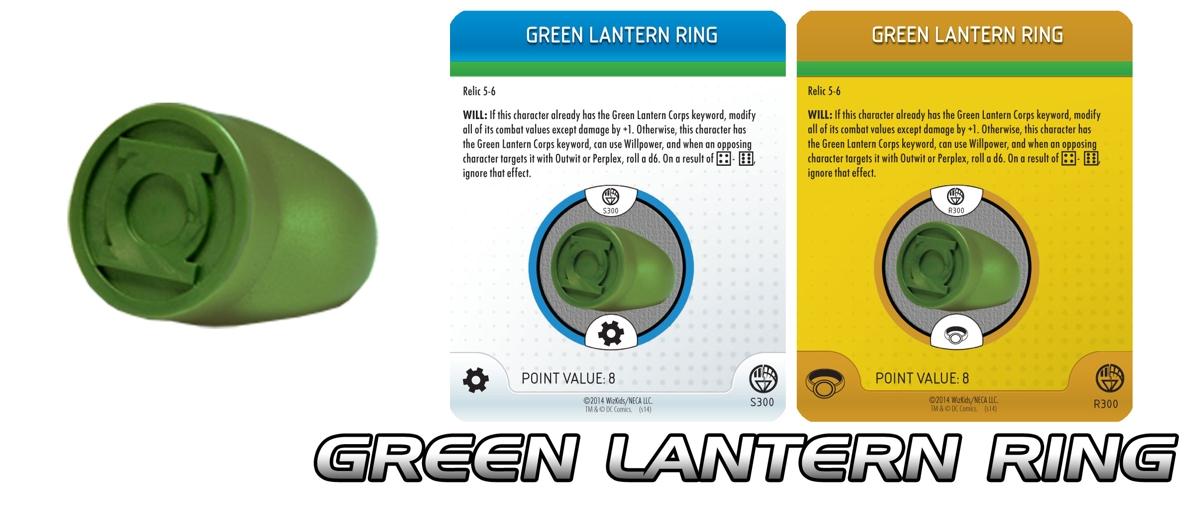 Heroclix Green Lantern power ring