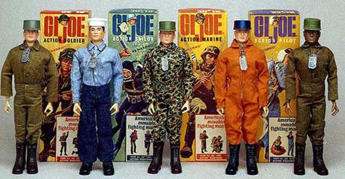12 inch G.I. Joe line